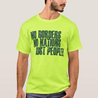 Camiseta Ningunas fronteras ninguna gente de las naciones