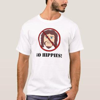 Camiseta ¡Ningunos hippies!