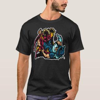 Camiseta ¡Ningunos pasarán a mi guardia! Jiu Jitsu