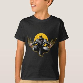Camiseta Ninja con las dagas