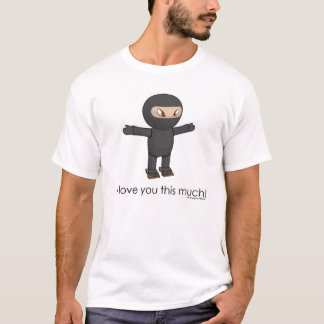 Camiseta Ninja sombreado célula