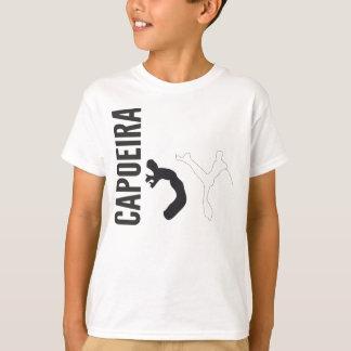 Camiseta niño del naranja del capoeira