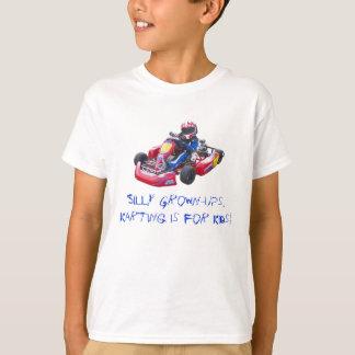 Camiseta Niño tonto Kart de los adultos