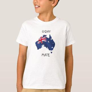 Camiseta Niños australianos de la bandera