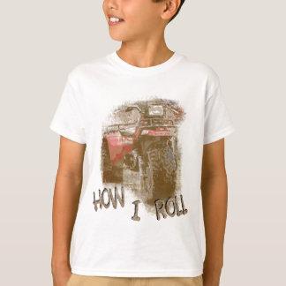 Camiseta Niños cómo RUEDO ATV Trike rojo retro