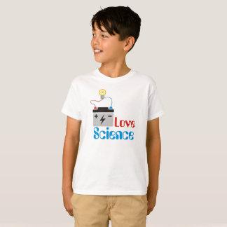 Camiseta Niños de la ciencia del amor