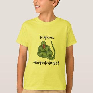 Camiseta Niños futuros lindos del amante de la serpiente