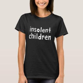 Camiseta niños insolentes