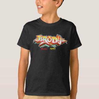 Camiseta Niños Streetwear: Pintada de Brody