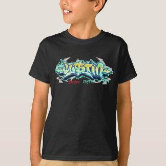 Camiseta Niños Streetwear: Pintada de Justin