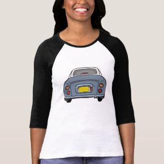 Camiseta Nissan Figaro - manga de la longitud del gris 3/4