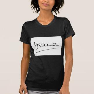 Camiseta No.34 la firma de princesa Diana