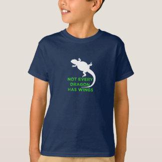 Camiseta No cada dragón tiene alas - verde