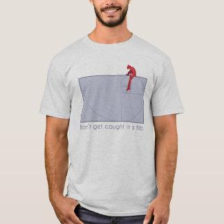 Camiseta No consiga cogido en una bola