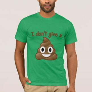 Camiseta No dé un impulso de Emoji