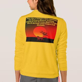 Camiseta ¡No deje al diablo devorar sus expectativas!