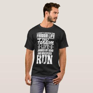 Camiseta No elegí la vida del Fandom