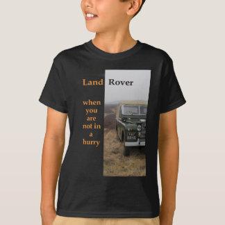 Camiseta No en una prisa