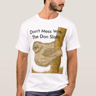 Camiseta No ensucie con la pereza de Don