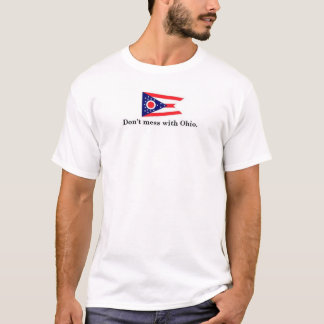 Camiseta No ensucie con Ohio
