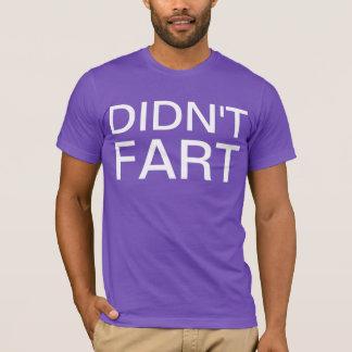Camiseta no fart