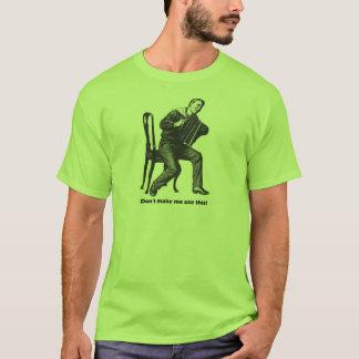 Camiseta ¡No haga que utiliza esto! (Acordeón)
