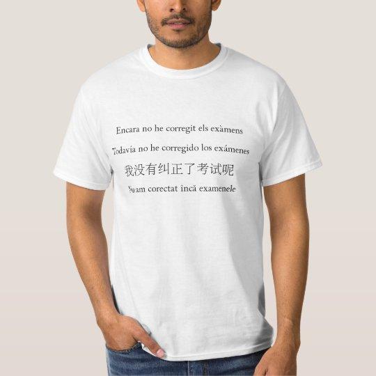 Camiseta No he corregit encara (II)