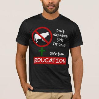 Camiseta No intercambie a los chicas para las vacas, les