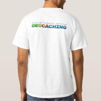 Camiseta No llame la policía, nosotros son Geocaching