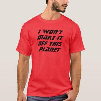 Camiseta ¡No lo haré!