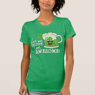Camiseta No me consigo BEBIDO consigo IMPRESIONANTE