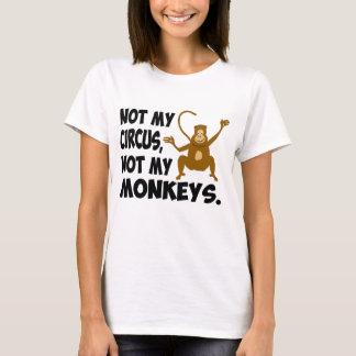 Camiseta No mi circo