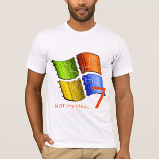 Camiseta NO mi idea