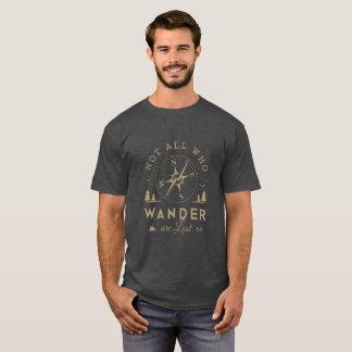 Camiseta No pierden todos que vagan
