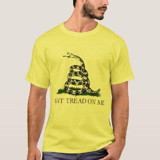 Camiseta No pise en mí, fiesta del té de la bandera de