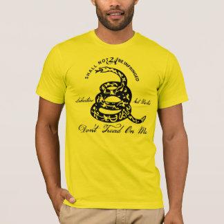 Camiseta No pise en mí la 2da enmienda