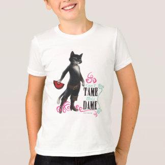 Camiseta No puede domesticar a esta dama (el color)