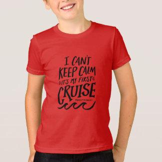 Camiseta No puedo guardar la calma, él soy mi primera
