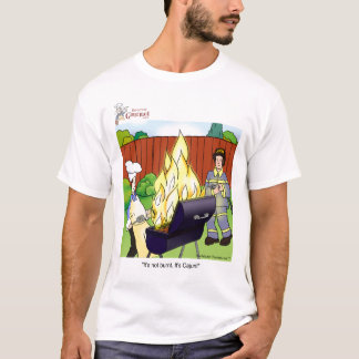 Camiseta No quemado - Cajun