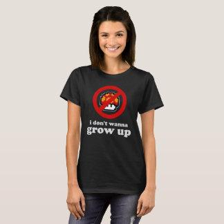Camiseta No quiero crecer