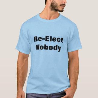 Camiseta No reelija a nadie