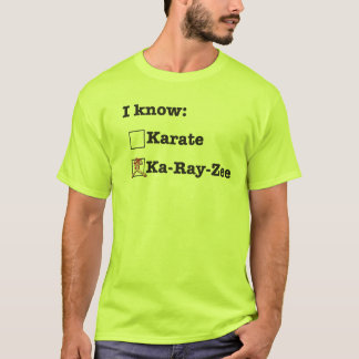 Camiseta No sé karate