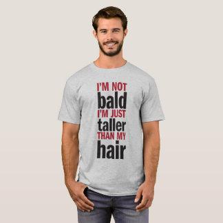 """Camiseta """"No soy calvo """""""