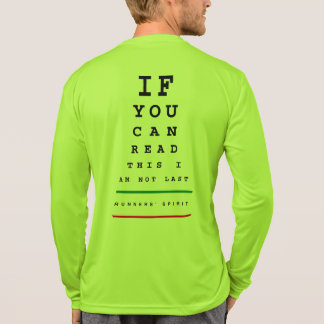 Camiseta No soy carta de ojo pasada - funcionamiento del LS