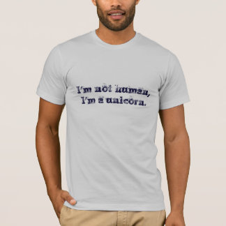 Camiseta No soy humano