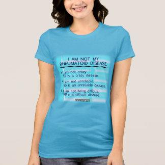 Camiseta No soy mi enfermedad reumatoide