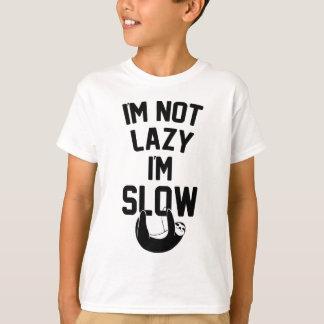 Camiseta No soy perezoso yo soy lento