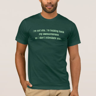 Camiseta No soy tímido