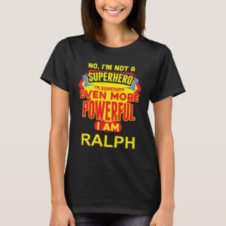 Camiseta No soy un super héroe. Soy RAFAEL. Cumpleaños del