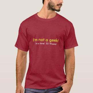 Camiseta No soy una plantilla del friki